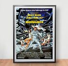 James Bond 007 Moonraker Movie Poster Film Vintage Art Retro Print Roger Moore £3.59 GBP on eBay