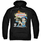 Betty Boop WELCOME TO FABULOUS LAS VEGAS COWGIRL Licensed Sweatshirt Hoodie $41.71 USD