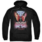 Star Trek THE FINAL FRONTIER Movie Poster Licensed Sweatshirt Hoodie
