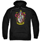 Harry Potter GRYFFINDOR CREST Licensed Adult Sweatshirt Hoodie