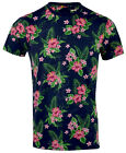 Mens Hawaiian Fashion Floral T- Shirt Short Sleeve Casual Cotton Summer Top Vest New with tags