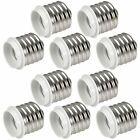 10X MENGS E40 GES to E27 ES Light Bulb Socket Base Converter for LED CFL