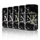 nexus 4 open case - Personalized Black Marble Fashion Phone Case for LG Nexus 4/E960/Initial Cover