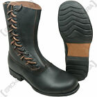 German Paratrooper Side Lace Boots -  WW2 Shoe Fallschirmjager Uniform Mens Boot