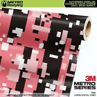 LARGE DIGITAL PINK Camouflage Vinyl Car Wrap Camo Film Sheet Roll Adhesive