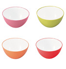 Microwave-safe bowl 20cm [Atomico] CB Japan