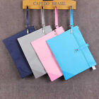A4 Zipper Briefcase File Holder Organizer Office Busines Canvas 2-layer Bag #JA