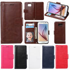 Luxury Leather Case Flip Cover Stand for Samsung Galaxy S6 S7 S7 Edge A310 A510