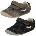 Boys Clarks Casual Hook & Loop Cruiser First Shoes Tiny Liam