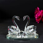Crystal Animal Twin Double Swans model swarovski Element Gift Present 7514