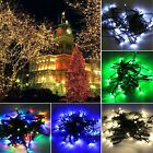 8m 60LED Solar String Lamp Light Party Xmas Garden Outdoor 5 Light Colors TXSU