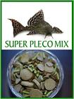 SUPER PLECO VEGGIE MIX,Spirulina Wafer,Veggie Sticks,Plecostomus,Veggie Wafer