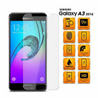 Tempered Glass Screen Protector for Samsung A3 2015/16/17 Anti-Shatter UK SELLER
