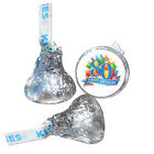 80th Birthday Party Supplies Hershey Kiss Labels Stickers Pe