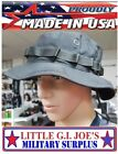 Mil.Issue Tactical Black Boonie Busch Hat Govt Contract 305-317 MADE IS U.S.A.