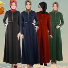 Hot Cloak Muslim Abaya Islamic Kaftan Long Dress Women's Thobe Vintage Clothes