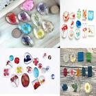 1Pc Silicone Pendant Mold Making Jewelry Resin Necklace Casting Mould Tool RTCA