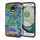 For Motorola Moto Z Play Droid XT1635 Hybrid Bumper Protective Case Cover + Pen