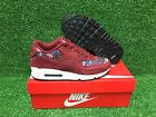 NEW WMNS NIKE AIR MAX 90 SE WOMEN'S SHOES TEAM RED NIGHT MAROON 881105-600