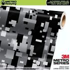 LARGE DIGITAL URBAN NIGHT Camouflage Vinyl Car Wrap Camo Film Sheet Roll Adhesiv