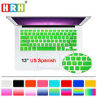 Spanish Silicone US Keyboard Cover Skin Film For Old Macbook Pro Air 13 15 17