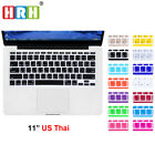 "Thai Language Keyboard Cover Skin Protector For MacBook Air 11"" 11.6 Inch"