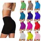 LADIES WOMENS  CYCLING COTTON  GYM SPORTS  SHORTS PLUS SIZE FITS SIZE  8-26