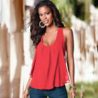 Women Summer Vest Top Sleeveless Tee Shirt Blouse Casual Loose Tank Tops T Shirt