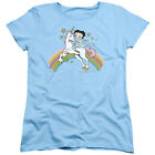 Betty Boop UNICORN & RAINBOWS Licensed Women's T-Shirt All Sizes $28.05 CAD on eBay