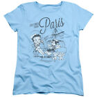 Betty Boop GREETINGS FROM PARIS Vintage Style Licensed T-Shirt All Sizes $21.73 USD