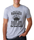 YOU CAN'T BUY HAPPINESS Classic Cars funny mechanic Father's Day gift T-Shirt