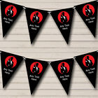 James Bond Red Black Personalised Carnival Fete Street Party Bunting Banner £6.95 GBP