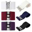 Women Dress Belt Metal Hook Wide Belt Waistband Girls Straps Stretch Buckle S-XL