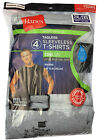 "Hanes Men's Sport Cool DRI® Sleeveless T-Shirt 4-Pack ""TAGLESS "" NEW MCT6A4"