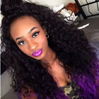 """Hot Malaysia Curly 100% Remy Human Hair Front Lace wig Full Lace Wigs 12""""-24"""""""