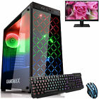 Ultra Fast Dual Core 4.1 8gb 1tb Home Gaming Pc Computer Bundle2 Rgb Polaris