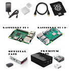 Raspberry Pi 3 & B+ 16GB Complete Starter Kit: SD, Case, Power, HDMI, Heat-sinks