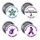 Please Be Patient With Me I Have Dementia - Pin / Button Awareness Badge