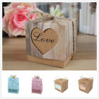 20 X Kraft Paper Princess/Prince Candy Box Wedding Baby Shower Party Gift Favor