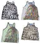Mens Weed Vest Boho Peace Skater Summer Rasta Marley Hippy Rare Cotton Abstract