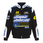 Jimmie Johnson 2016 Nascar Sprint Cup 7-Time Champion Twill Jacket by JH Design