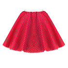 ROCK n ROLL Circle Skirt POLKA DOT GIRLS FANCY DRESS Costume Pink Ladies UK Made