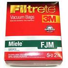 Miele Style F J M Vacuum Bags Type Cloth Fiber Anti Allergen Filtration by 3M