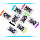 Candy Colour Fluorescent Cover Dry Pouch Mobile Phone Underwater Waterproof Case