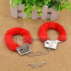 Unisex - Handcuffs Adult Fantasy Adult Night Party Game Favor Black Red Sex Toy Cosplay