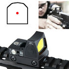 Reflex Mini RMR Red Dot Sight w/ Adjustable On/Off Button for Airsoft Shooting