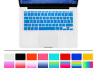 """AZERTY French Silicone EU Keyboard Cover Skin Protector For Macbook Air 11.6 11"""""""