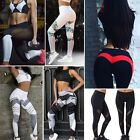 New Womens Sports Gym Yoga Running Fitness Leggings Pants Athletic Trousers 6-12