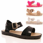 LADIES WOMENS SUMMER JELLY CASUAL HOLIDAY BEACH SANDAL FASHION SHOES SIZE 3-8