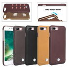 Pierre Cardin Genuine Leather Cove Diamond Hard Case For Apple iPhone 7/8 Plus